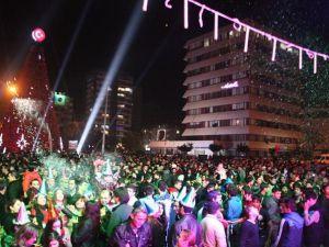 Adana'da Yılbaşı Kutlamalarından Renkli Görüntüler