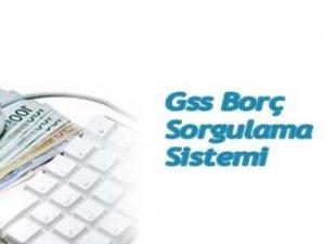 GSS Borç Sorgulama