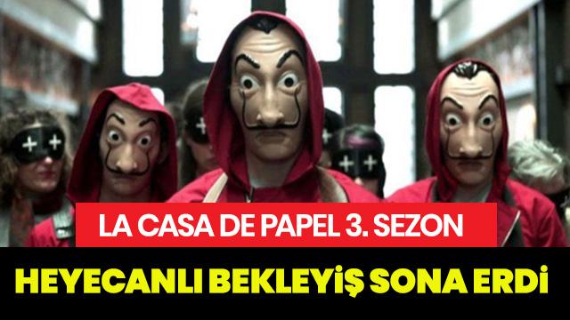 La Casa De Papel 3. Sezon Başladı
