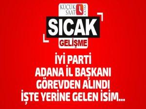 İYİ Parti Adana İl Başkanı Göktürk Boyvadoğlu görevden alındı