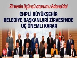 Zirvenin üçüncü oturumu Adana'da!