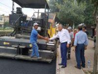 Büyükşehir merkezde ve kırsalda asfalt çalışmalarını aralıksız sürdürüyor