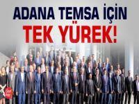 ADANA TEMSA İÇİN 'TEK YÜREK'
