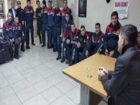 Genel Sekreter Sn. Dr. Ergül HALİSÇELİK, itfaiyecilerin sorunlarını dinledi