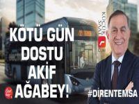 Kötü gün dostu Akif Ağabey! #DirenTemsa