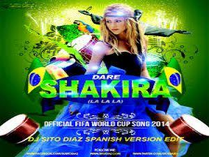 Shakira Dünya Kupası Müziği La La La