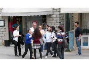 Amatör Çekim-Kızların Sokak Kavgası