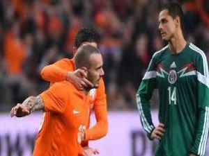 Wesley Sneijder'in Meksika'ya Attığı Gol izle