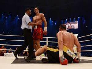 Klitschko vs Pulev 1 Round Knokdown