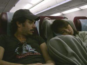 Hayrettin ve Sevgilisi Uçakta