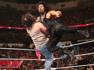 Roman Reigns vs. Luke Harper: Raw, January 12, 2015