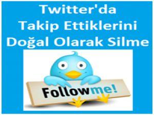 Twitter Takip Edilenleri Toplu Olarak Silme