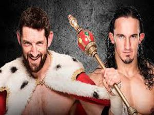 King Barrett vs. Neville - Payback WWE 2K15 Simulation