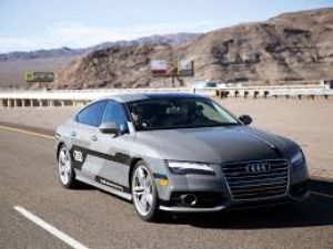 Look! No hands!! Audi A7 drives itself on public roads